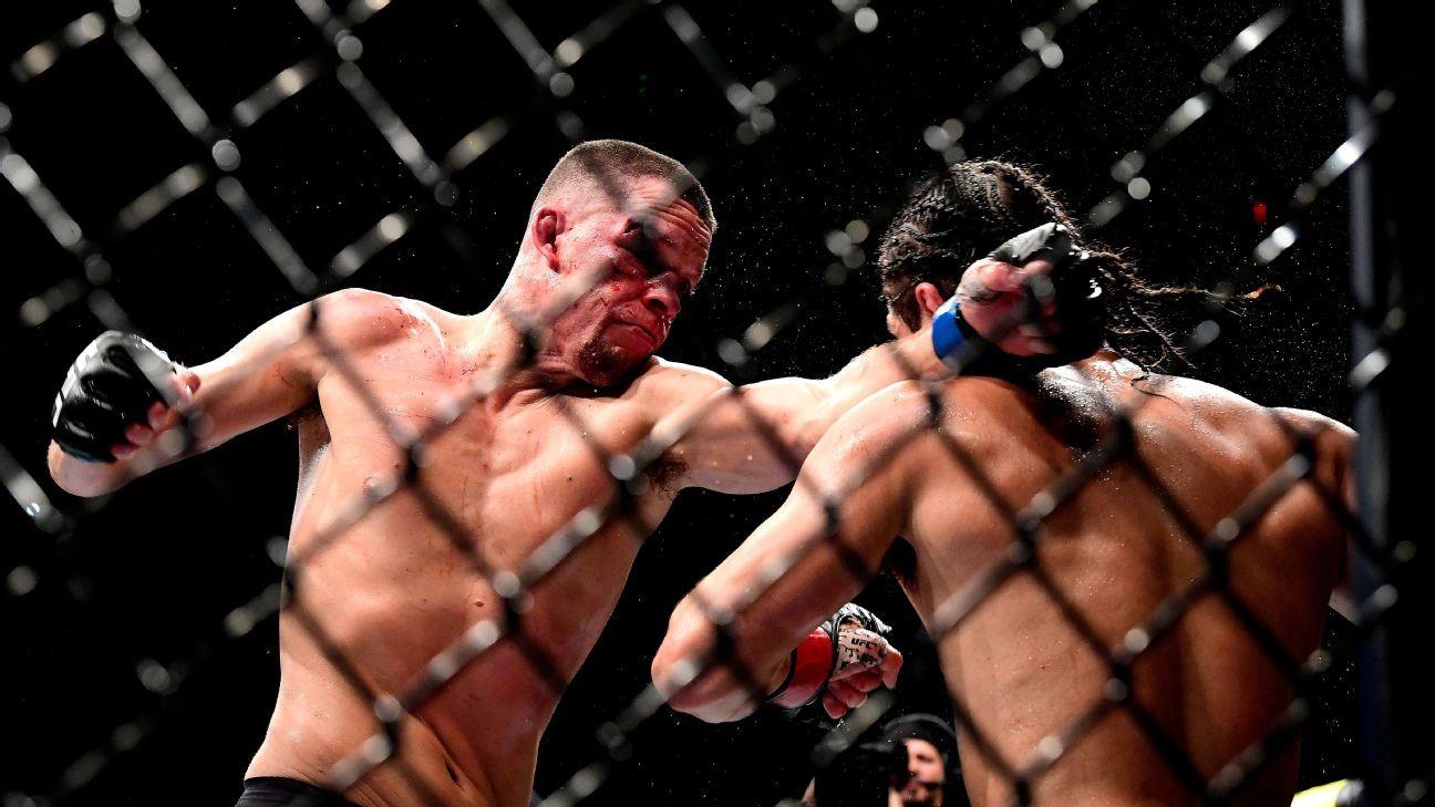 Nate Diaz 'Ai nói tôi đã nghỉ hưu? Tôi sẽ chiến đấu tối nay '