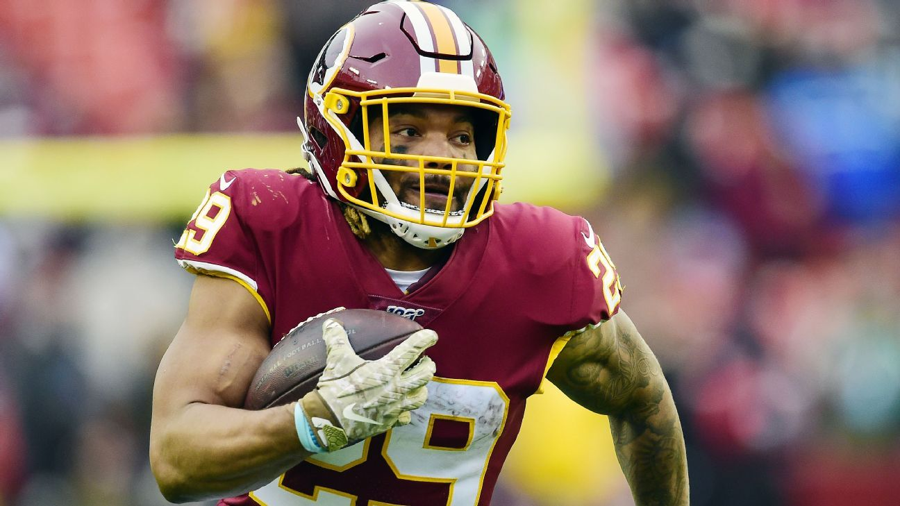 Charges dropped against former WFT RB Guice