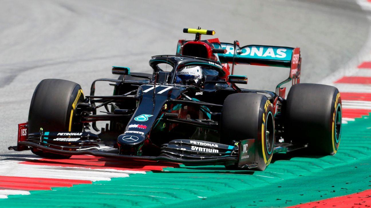 Bottas beats Hamilton to pole as Ferrari flops in Austria