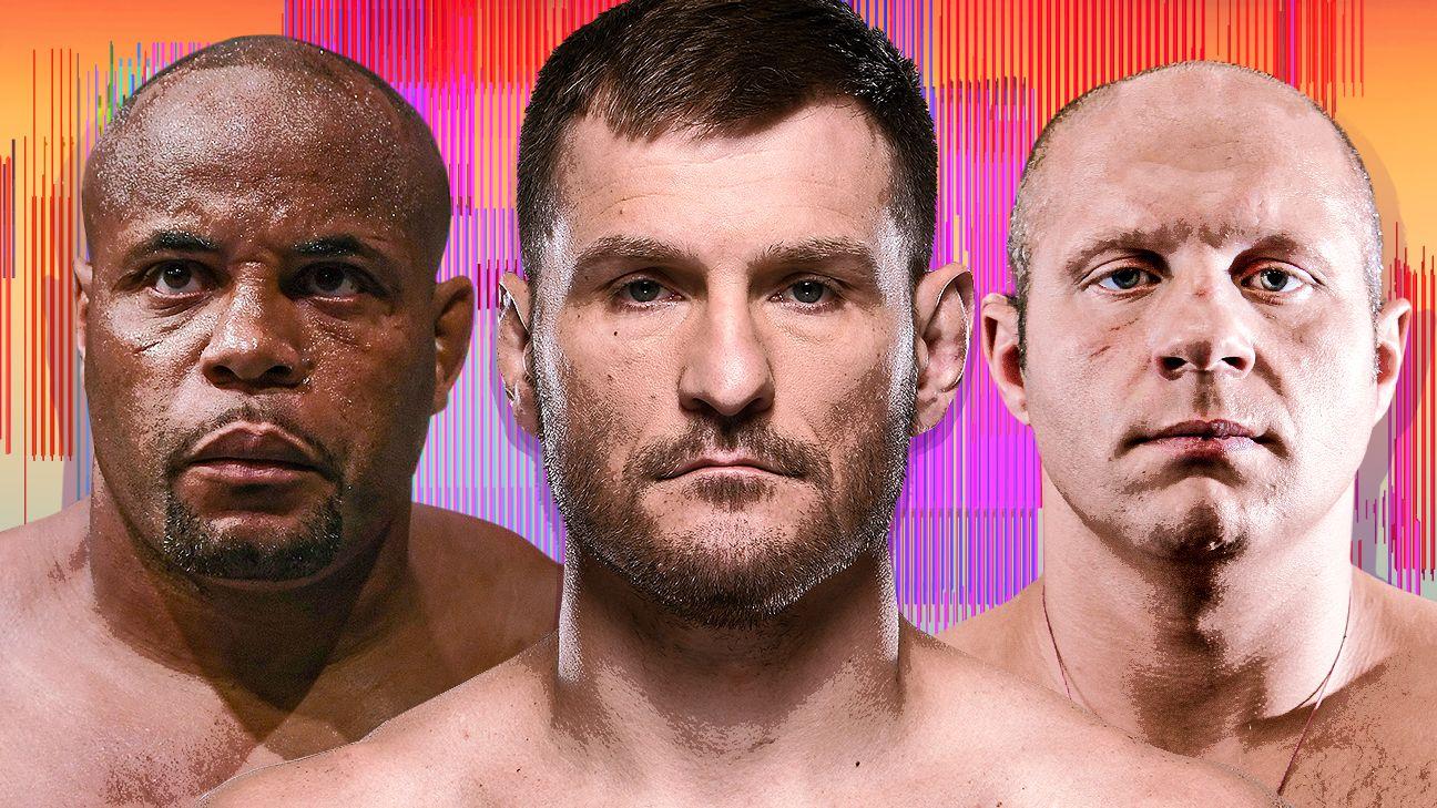 UFC 252 – Liệu Cormier-Miocic 3 có xác định được GOAT hạng nặng?  10 nhà cựu vô địch làm nên trường hợp
