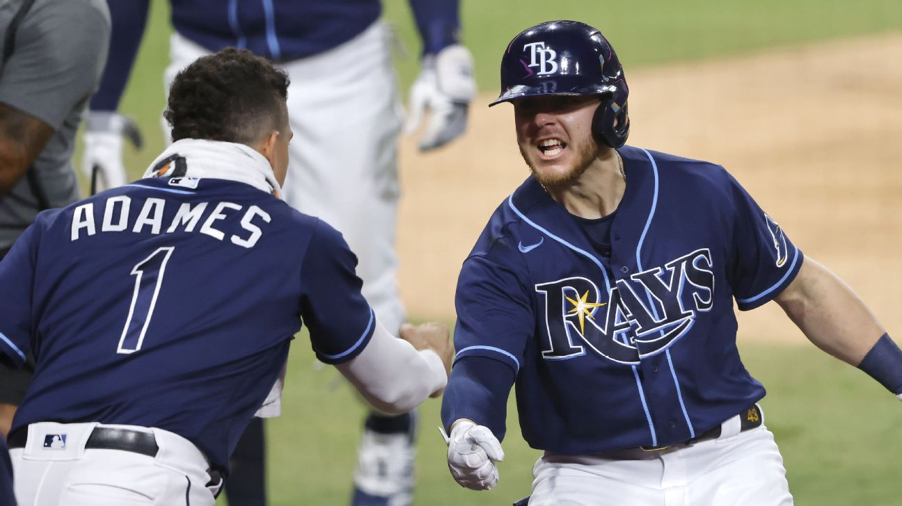 Rays raise MLB postseason celebration game to a new level