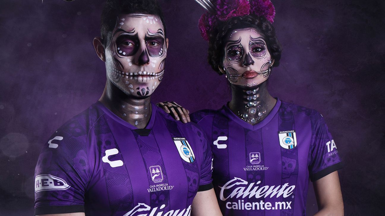 Mexico's Day of the Dead: Liga MX clubs unveil stunning new kits