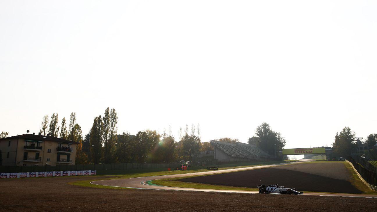 F1 drivers in awe of 'incredible' Imola circuit
