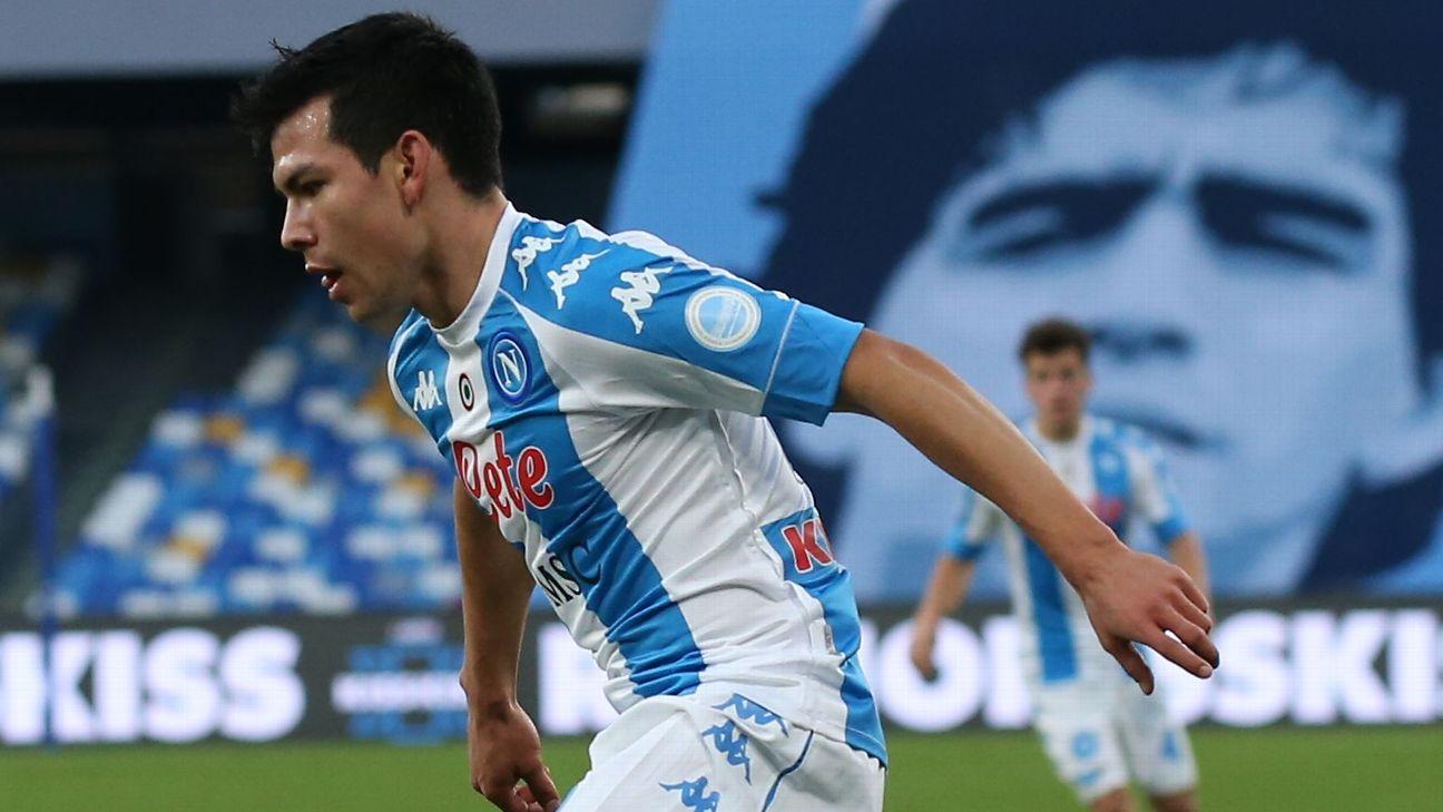 Can you see the han costado los goles del 'Chucky' Lozano al Napoli?