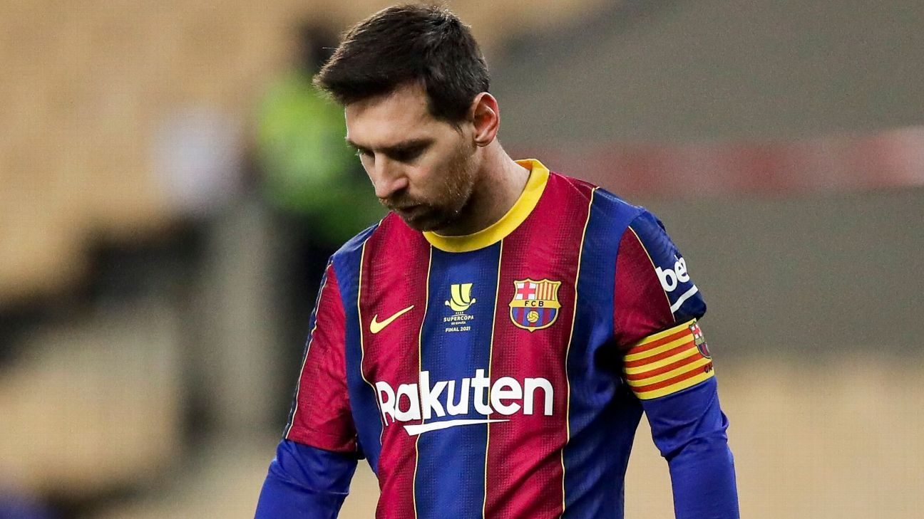 Messi, Neymar miss out on FIFA 21 Staff of the Yr