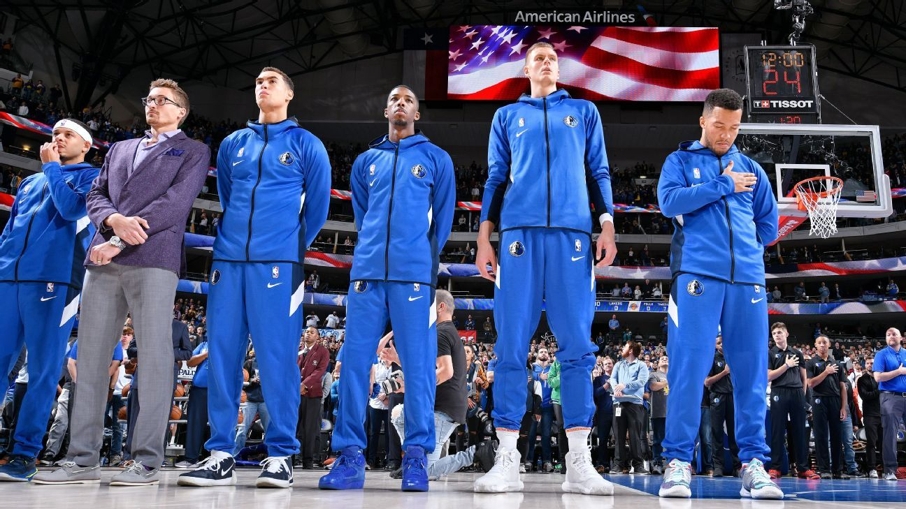 Mavs stop playing anthem at Cuban