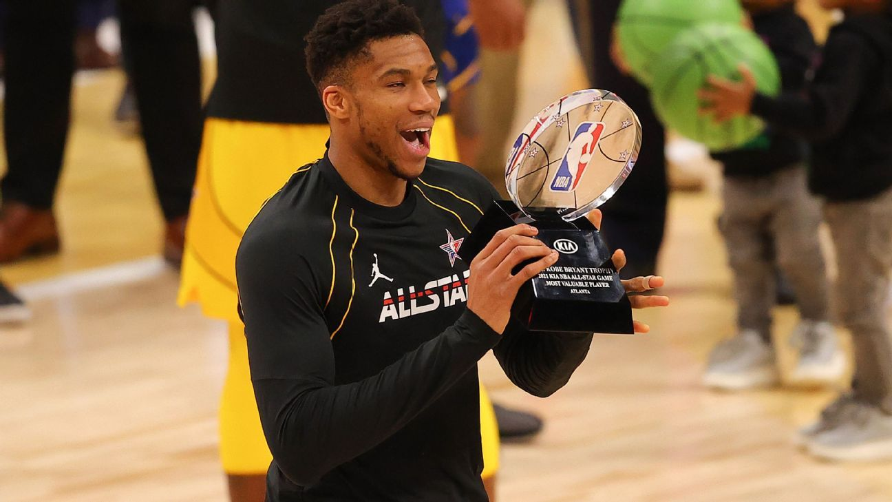 Giannis Antetokounmpo shone more than anyone else in the NBA All-Star Game