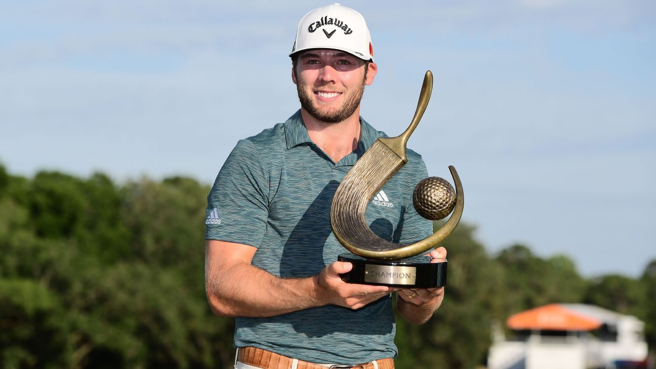 Burns wins by 3 at Valspar for first PGA Tour title