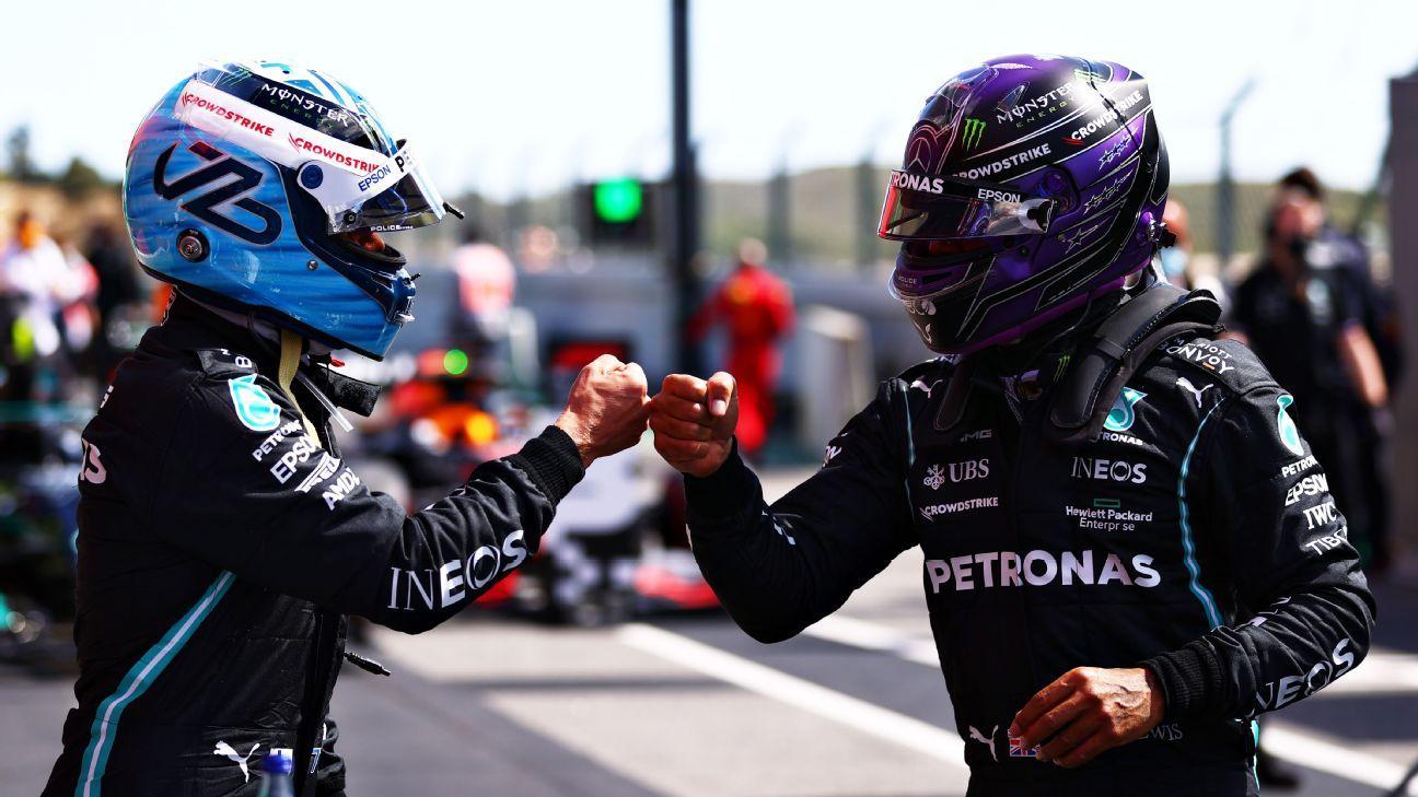 Give 'amazing' Bottas a break, says Hamilton