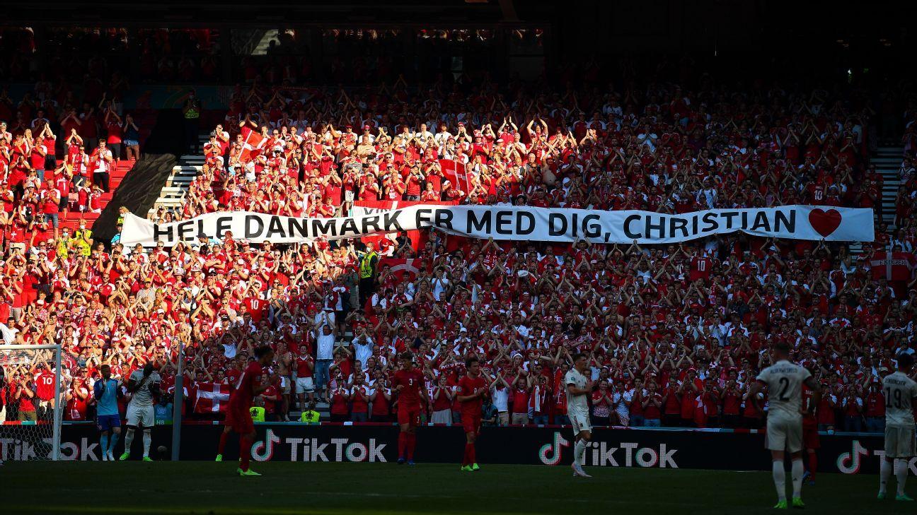 Denmark-Belgium paused to pay Eriksen tribute - News WWC