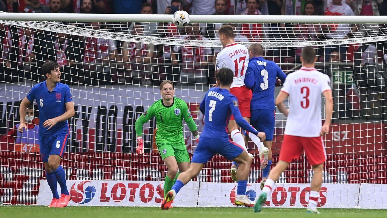 Poland vs. England – Football Match Report – September 8, 2021 – ESPN