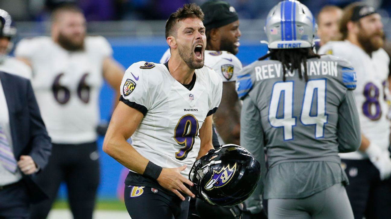 <div>Ravens' Tucker wins game on record 66-yard FG</div>