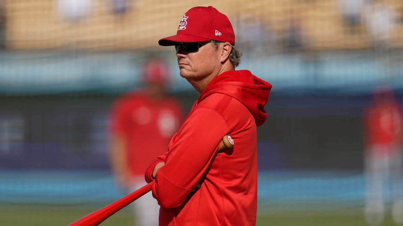 Sources: Cardinals' Shildt out after wild-card run